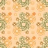 Forma abstracta con la línea geométrica Art Seamless Pattern Imagenes de archivo