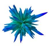 Forma abstracta de la pendiente - azul Fotos de archivo libres de regalías