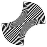 Forma abstracta del rectángulo stock de ilustración