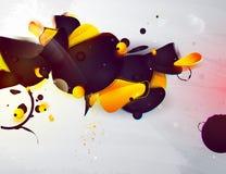 Forma abstracta, elementos del diseño stock de ilustración