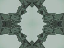Forma abstracta hecha de pequeños círculos Imágenes de archivo libres de regalías