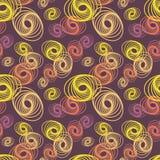 Forma abstrata com linha geométrica Art Seamless Pattern Ilustração do Vetor