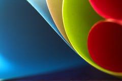 Forma abstrata de papel Fotografia de Stock