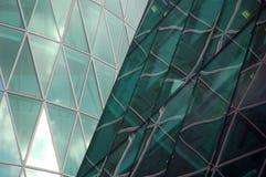 Forma abstrata de um arranha-céus moderno Fotografia de Stock