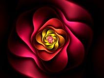 Forma abstrata do fractal da flor Imagem de Stock Royalty Free