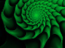 Forma abstrata do shell do mosaico Foto de Stock