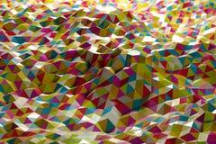Forma abstrata dos triângulos foto de stock
