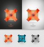 Forma abstrata geométrica - símbolo do negócio Foto de Stock
