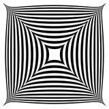 Forma abstrata geométrica Squarish ilustração royalty free