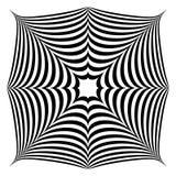 Forma abstrata geométrica Squarish ilustração do vetor