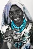 Forma africana Fotografia de Stock