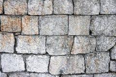 Forma arbitrária de pedra da alvenaria Imagem de Stock Royalty Free