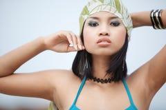 Forma asiática Fotografia de Stock Royalty Free