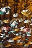 Forma autêntica da lâmpada do Médio Oriente foto de stock