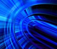 Forma azul Fotos de Stock Royalty Free