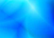 Forma blu con la linea fondo dell'estratto del modello della sfuocatura Immagini Stock Libere da Diritti