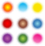 Forma colorida fotografia de stock