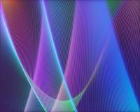 Forma colorida artística del papel pintado foto de archivo