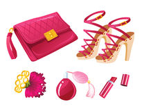 Forma cor-de-rosa Foto de Stock Royalty Free