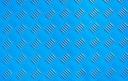Forma d'acciaio del rombo del nuovo di struttura del fondo del metallo piatto blu del ferro Immagini Stock