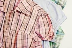 Forma da camisa Foto de Stock Royalty Free