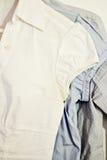 Forma da camisa Fotografia de Stock