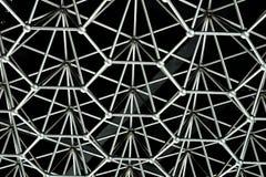 Forma da colmeia feita da conexão matal Foto de Stock Royalty Free