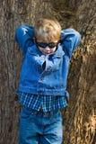 forma da criança Fotos de Stock Royalty Free