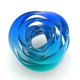 forma da hélice 3D Fotografia de Stock