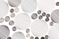 A forma da linha aleatória desarrumado circunda, teste padrão geométrico do fundo do sumário Efeito, lona, arte & criativo ilustração do vetor