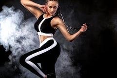 Forma, dança e esporte imagens de stock