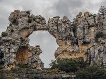 Forma de África de la roca imágenes de archivo libres de regalías