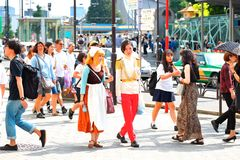Forma de Harajuku Foto de Stock Royalty Free