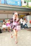 Forma de Harajuku Fotos de Stock Royalty Free
