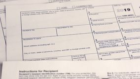 Forma de impuesto 1099-MISC metrajes
