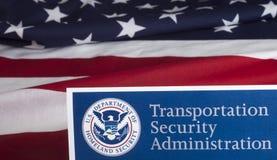 Forma de la administración de la seguridad del transporte foto de archivo libre de regalías