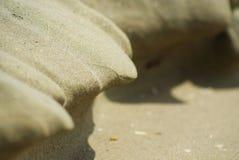 Forma de la arena foto de archivo