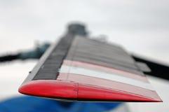 Forma de la cuchilla del helicóptero Imagen de archivo
