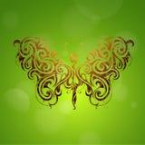 Forma de la mariposa Imágenes de archivo libres de regalías