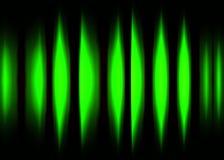 Forma de onda 2 da cor ilustração stock