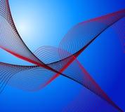 Forma de onda 204 Imagen de archivo