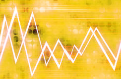Forma de onda 9 Imagens de Stock
