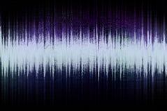 Forma de onda audio Imagenes de archivo