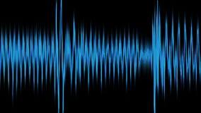 Forma de onda audio, cantidad común libre illustration