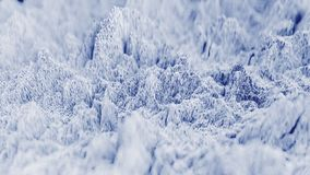 forma de onda 4K topográfica abstrata filme