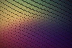 Forma de onda tecnológica Backround del vector abstracto Imagen de archivo libre de regalías