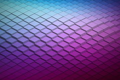 Forma de onda tecnológica Backround del vector abstracto Fotos de archivo libres de regalías