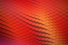 Forma de onda tecnológica Backround del vector abstracto Foto de archivo