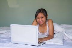 Forma de vida adolescente de Asia Foto de archivo libre de regalías