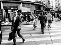 Forma de vida de la gente en Europa Foto de archivo